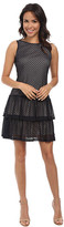 Jessica Simpson Crochet Lace Tier Dress w/ Bow