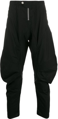 Unravel Project High-Rise Tapered Trousers