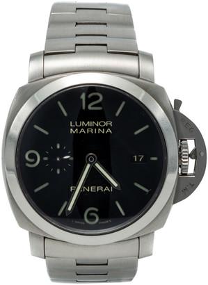 Panerai Steel Luminor Marina 1950 Pam 328 Inhouse Movement Men'S Watch 44MM