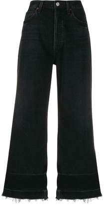Citizens of Humanity high waist cropped jeans