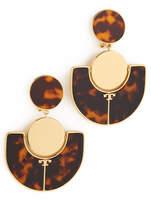 Tory Burch Art Deco Statement Earrings