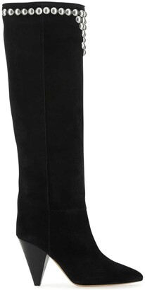 Isabel Marant Studded Detail Pointed Toe Boots