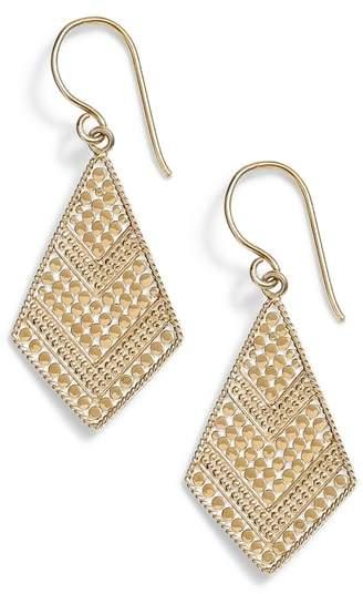 Anna Beck Gold Kite Drop Earrings