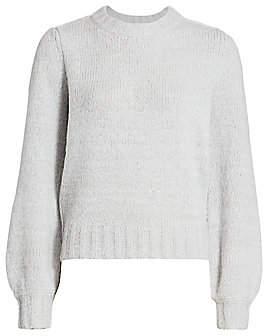 Rails Women's Sybil Puff-Sleeve Cashmere, Alpaca & Wool-Blend Knit Sweater
