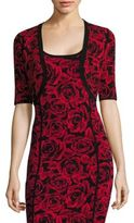 Michael Kors Rose Jacquard Shrug