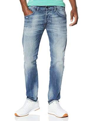 Diesel Men's D-bazer L.32 Trousers Tapered Fit Jeans,W32/L32 (Size: 32)