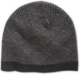 Ryan Seacrest Distinction Men's Diamond Knit Beanie, Only at Macy's