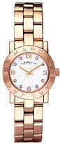 Marc Jacobs Ladies Amy Mini Rose Gold Watch