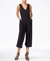 Kensie Cropped Wide-Leg Jumpsuit