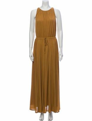 Max Mara Astrid Long Dress w/ Tags Brown