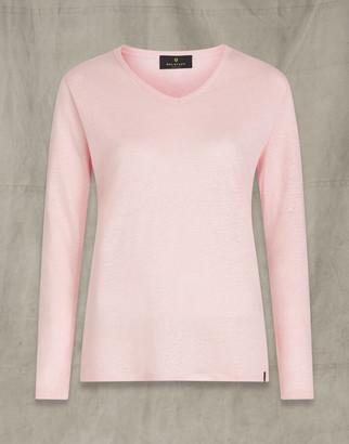 Belstaff AVERY LONG SLEEVED T-SHIRT Pink
