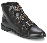 F-Troupe Triple Buckle Boot Black