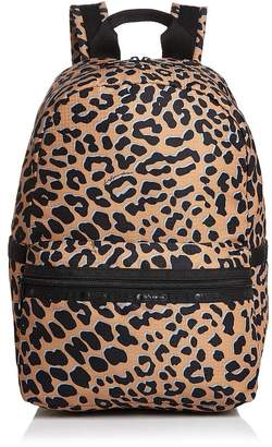 Le Sport Sac Jasper Leopard Backpack