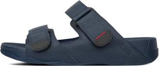 FitFlop Gogh Moc Adjustable Leather Slides