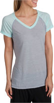 Jockey Short Sleeve V Neck T-Shirt-Womens