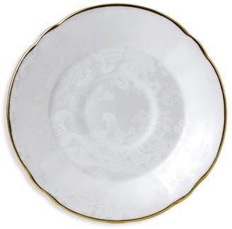 Royal Crown Derby Pearl Aves Bone China Tea Saucer