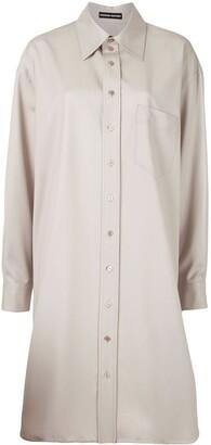Kwaidan Editions Oversized Shirt Dress
