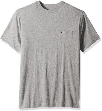 Tommy Hilfiger Men's Big and Tall T Shirt with Pocket