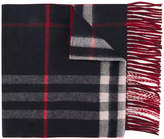Burberry cashmere check scarf