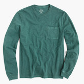 J.Crew Tall long-sleeve garment-dyed T-shirt