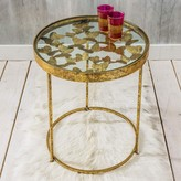Graham and Green Gold Butterfly Side Table