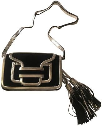 Pierre Hardy Navy Suede Handbags