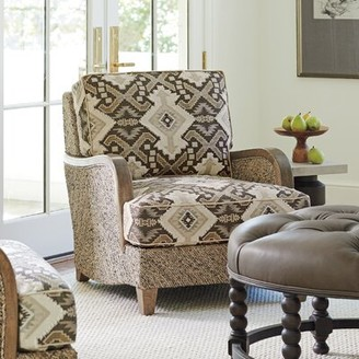 Barclay Butera Thayer Chair Upholstery: Light Brown