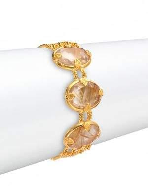 Chan Luu Rutilated Quartz Chain Bracelet