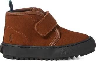 Ralph Lauren Chett EZ Suede Mid-Top Sneaker