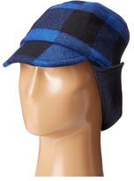 Stella McCartney Elk Checkered Wool Hat Caps