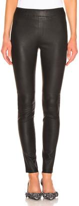REMAIN Snipe Leather Legging in Black | FWRD