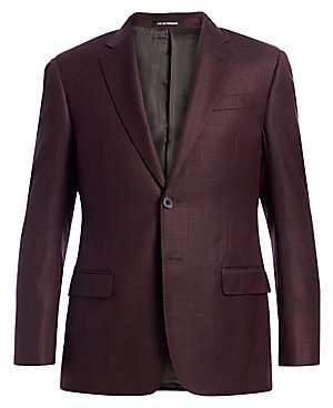 Emporio Armani Men's Wool Blazer