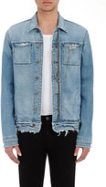 RtA Men's Denim Jacket-BLUE