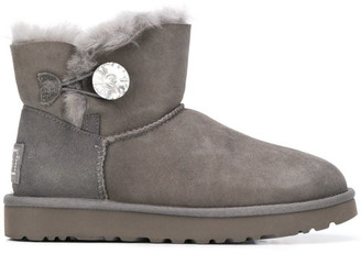 UGG Mini Bailey Button Ankle Boots