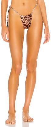 Monica Hansen Beachwear Tie String Bikini Bottom