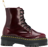 Dr. Martens leather lace-up boots