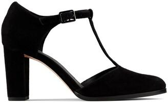 Clarks Kaylin85 Tbar2 Leather Heels