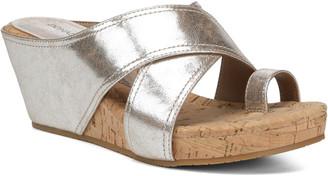 Donald J Pliner Geea Patent Wedge Sandal