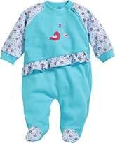 Playshoes Baby Girls' Schlafoverall Vögelchen Sleepsuit,(Manufacturer Size: 56)