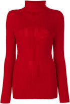 Victoria Beckham ribbed knitted sweater