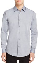 BOSS Lukas Micro Pattern Regular Fit Button Down Shirt - 100% Bloomingdale's Exclusive