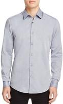 BOSS Lukas Micro Pattern Regular Fit Button-Down Shirt - 100% Exclusive