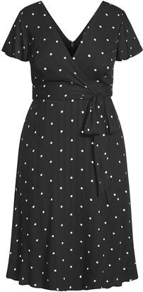 City Chic Sweet Doll Dress (Plus Size)