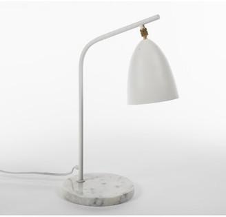 """Loren Galla Home 21.25"""" Desk Lamp Galla Home Shade Color: White Matte"""