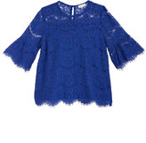 Monteau Lace Bell-Sleeve Top, Big Girls (7-16)
