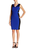 Adrianna Papell Colorblock Bodycon Skirt (Petite)