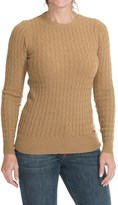 Barbour Langdale Lambswool Cable-Knit Sweater (For Women)