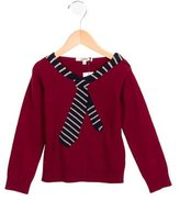 Junior Gaultier Boys' Intarsia Wool-Blend Sweater w/ Tags