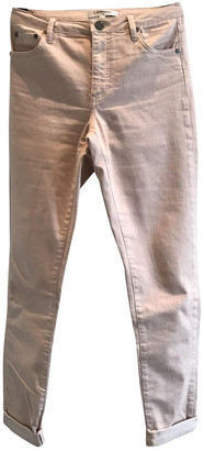 LK Bennett Pink Cotton - elasthane Jeans for Women