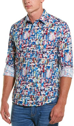 Robert Graham Babsdale Classic Fit Woven Shirt